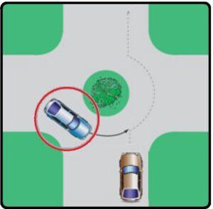 خودرویی که با دایره مشخص شده است