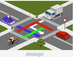 تقاطع در چهار راه
