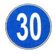 حداقل سرعت ۳۰ کیلومتر