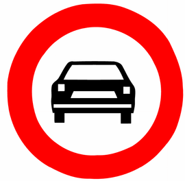 عبور سواری ممنوع