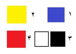 مفهوم رنگ ها