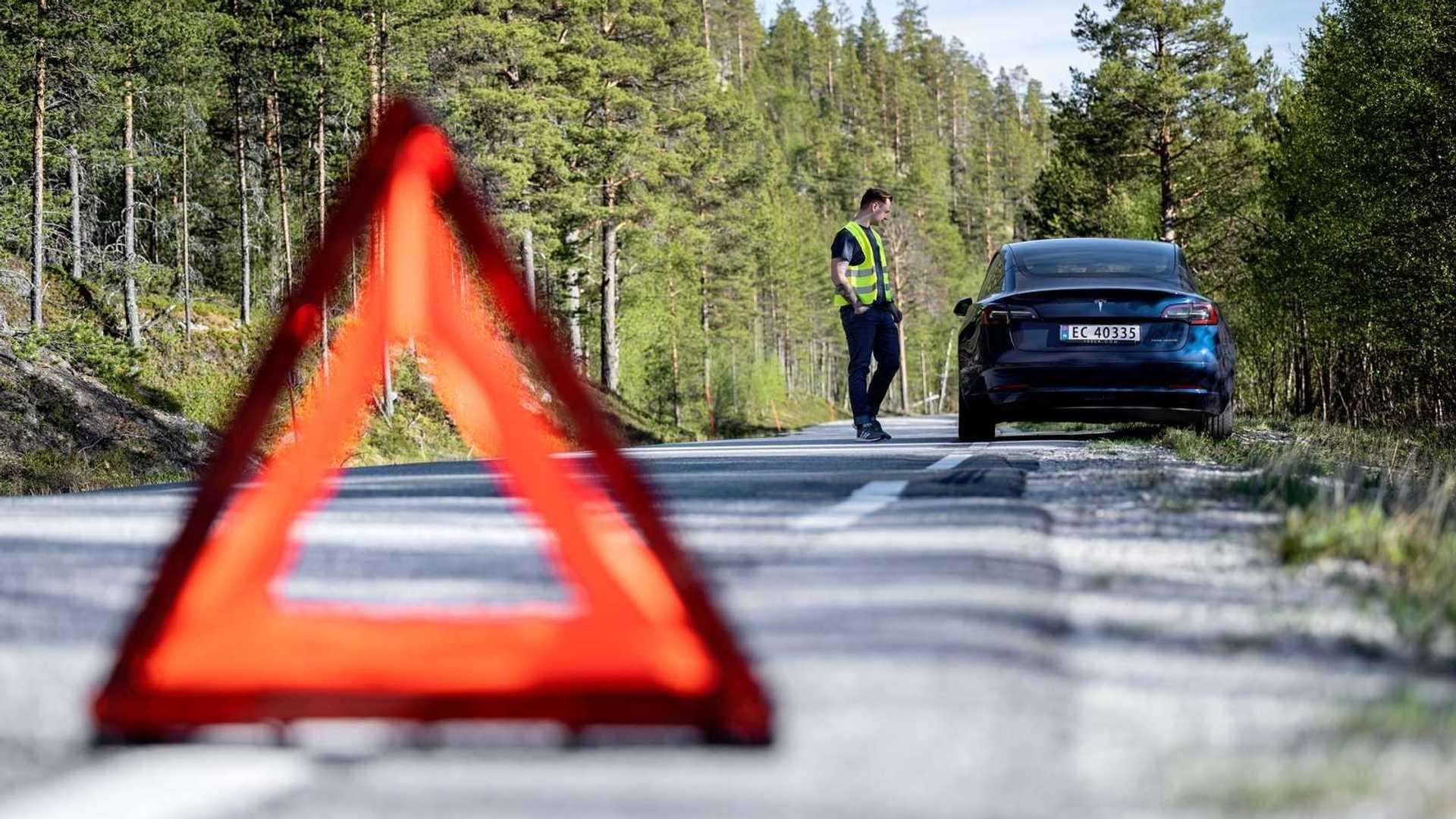 تست پیمایش 21 خودروی برقی در نروژ