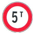 عبور وسایط نقلیه با وزن بیش از ۵ تن ممنوع